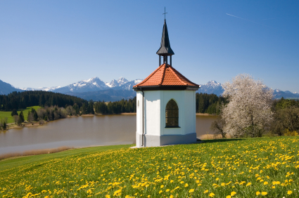 Chapel by the lake